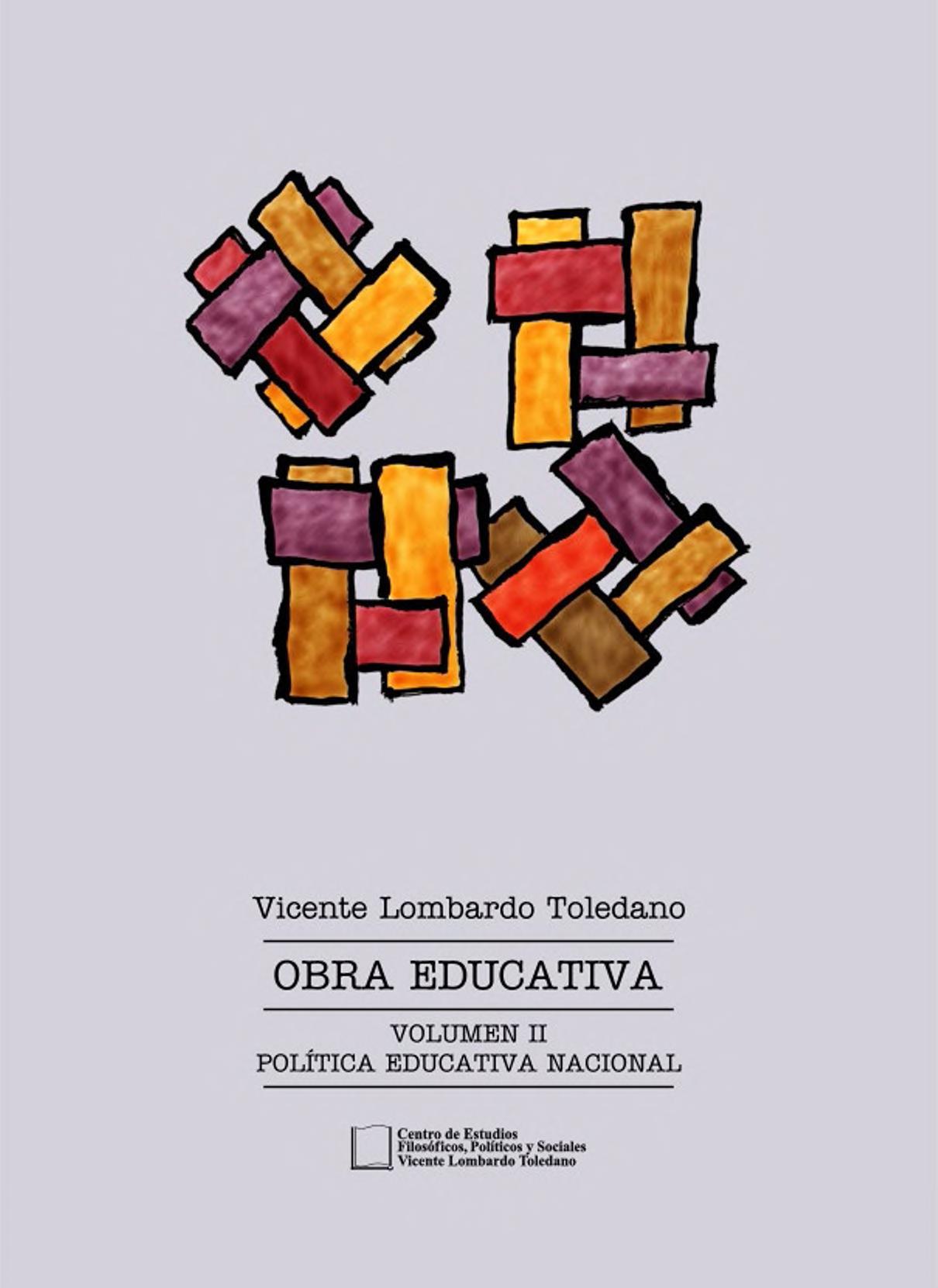 Portada del libro: Obra educativa vol. II: estructura de la educación en México