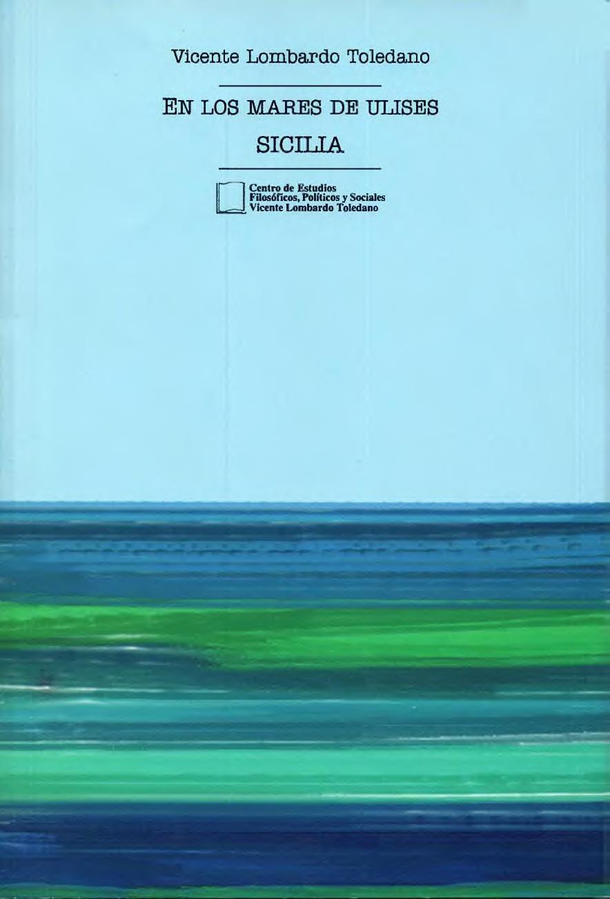 Portada del libro: En los mares de Ulises, Sicilia