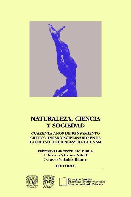 Portada del libro: Naturaleza, ciencia y sociedad