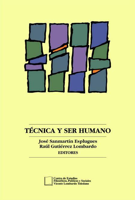 Portada del libro: Técnica y ser humano