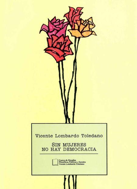 Portada del libro: Sin mujeres no hay democracia