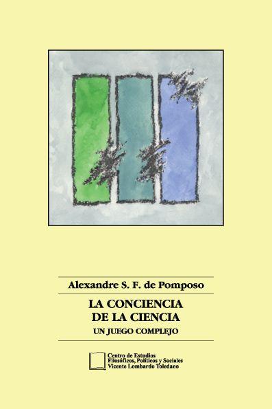 Portada del libro: La conciencia de la ciencia