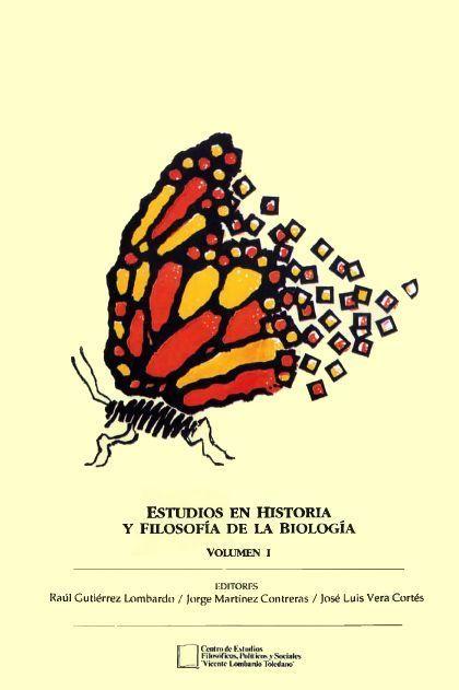 Portada del libro: Estudios en Historia y filosofía de la Biología