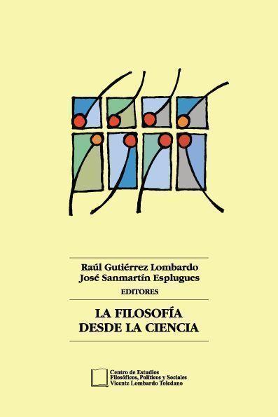 Portada del libro: La filosofía desde la ciencia