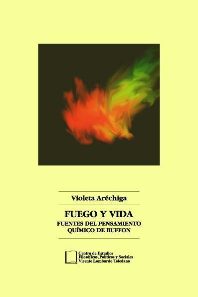Portada del libro: Fuego y Vida