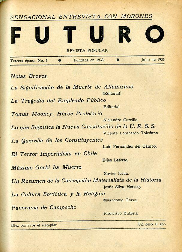 Portada del libro: Futuro