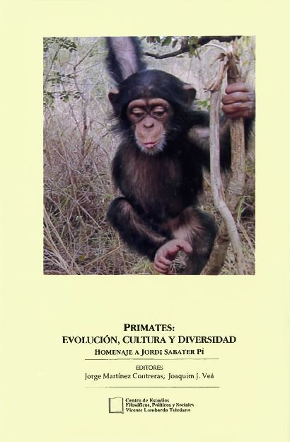 Portada del libro: Primates: evolución, cultura y diversidad